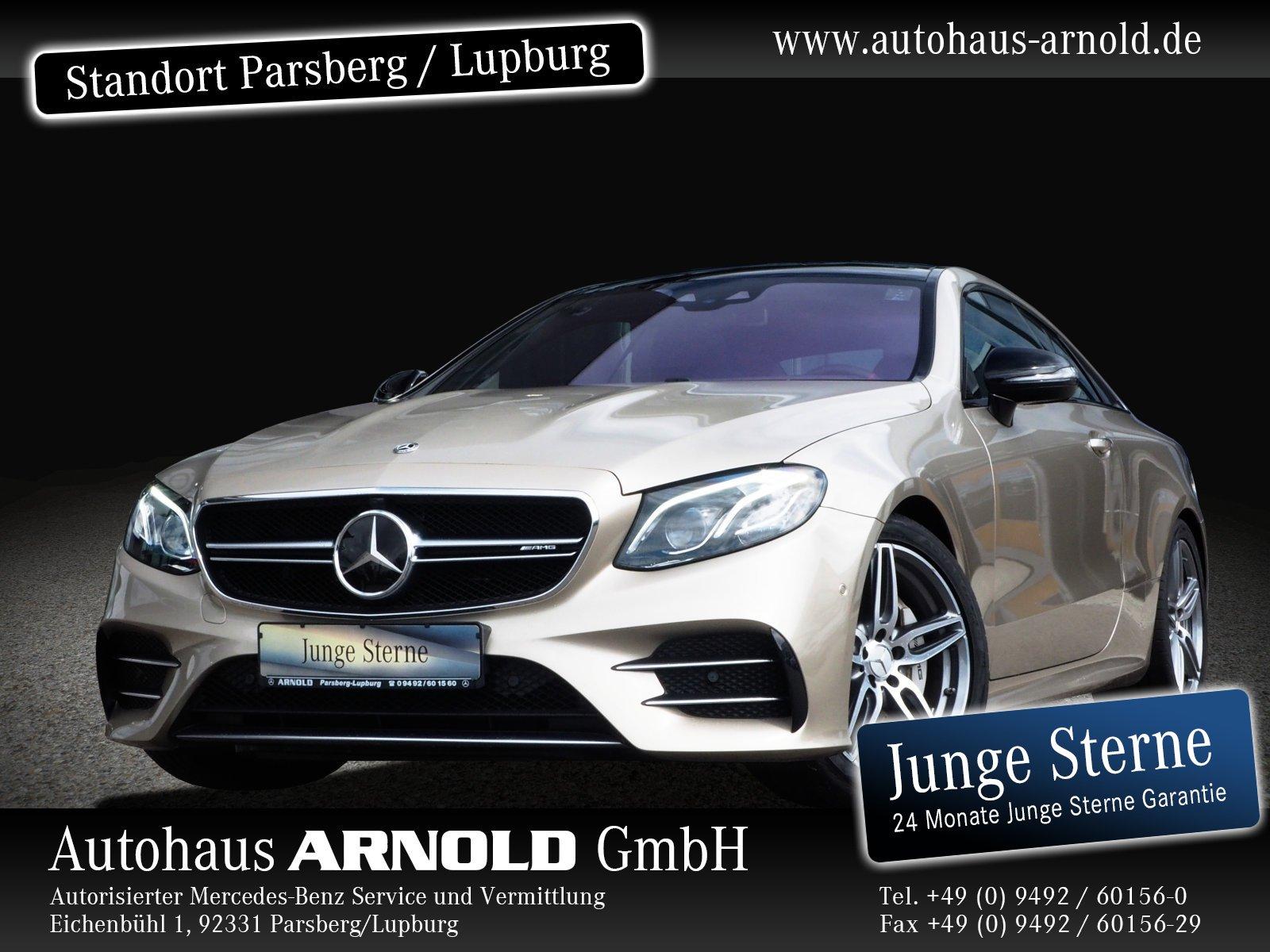 Mercedes-Benz Mercedes-AMG E 53 4M+ Coupe Comand PSD Head-Up, Jahr 2019, Benzin