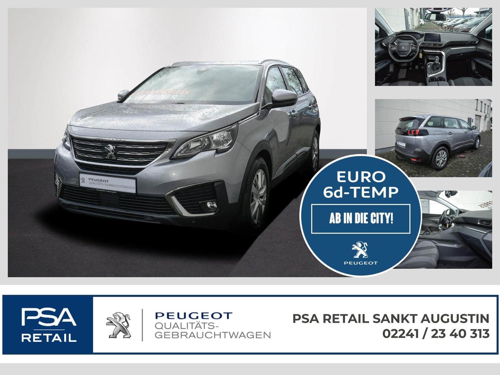 Peugeot 5008 Active 130 1.2 7.Sitzer AHK Navi SHZ EPH, Jahr 2019, Benzin