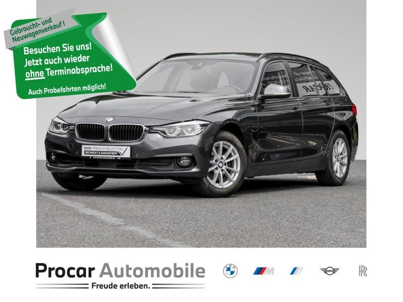 BMW 320d ADVANTAGE LED+WLAN+NAVI+PROF.+KLIMAAUT., Jahr 2018, Diesel