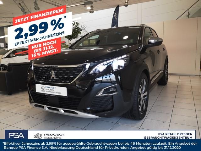 Peugeot 3008 BlueHDi 180 Stop & Start EAT6 GT/ Navi/ DAB/ Kamera/ SH, Jahr 2017, Diesel