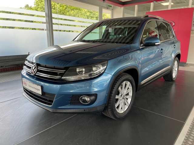 Volkswagen Tiguan 1.4 TSI DSG BMT Life AHK abnehmbar, Jahr 2014, Benzin