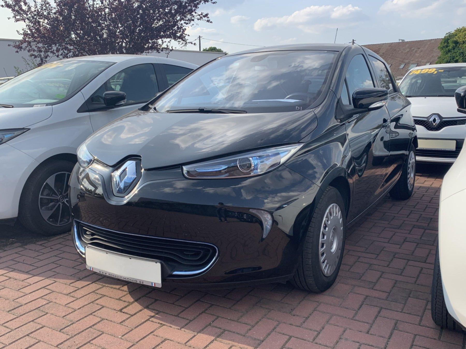 Renault ZOE INTENS 22 kWh Navigationssystem, Jahr 2014, Elektro