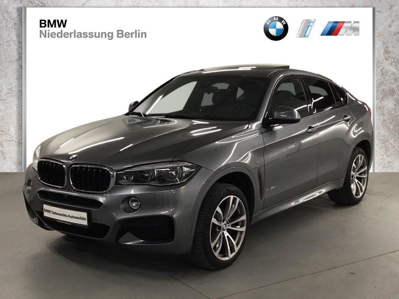 BMW X6 xDrive30d EU6 M Sport LED Navi Head-Up GSD, Jahr 2017, Diesel