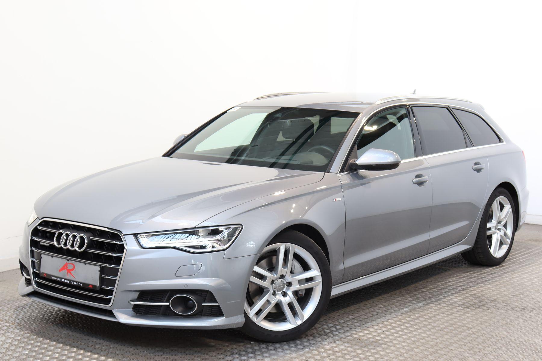 Audi A6 Avant 2.0 TFSI qu S LINE HEAD-UP,LUFT,MATRIX, Jahr 2017, Benzin