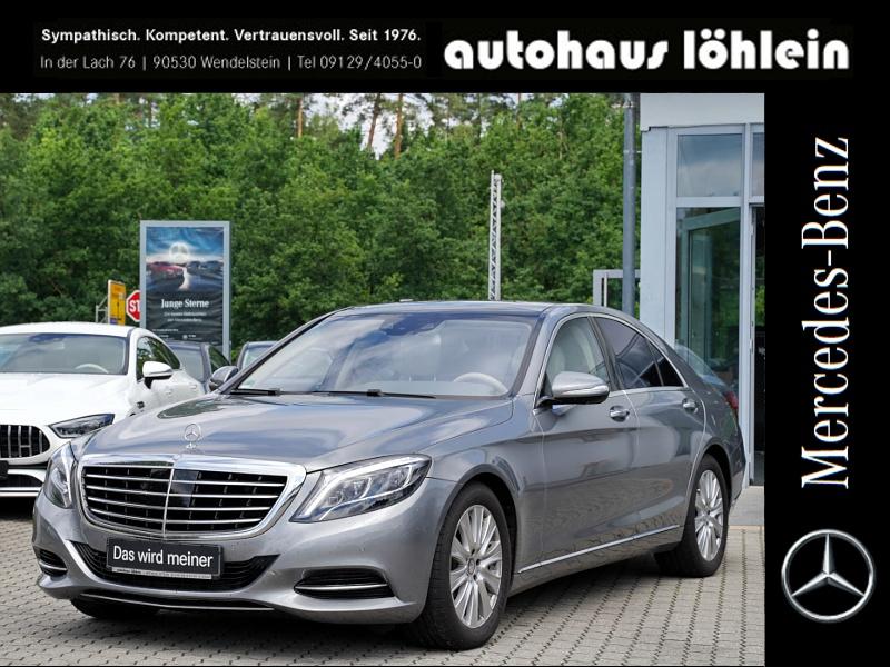 Mercedes-Benz S 500 Burmester+Pano+Distronic+360Kamera+Sitz-Kü, Jahr 2014, Benzin