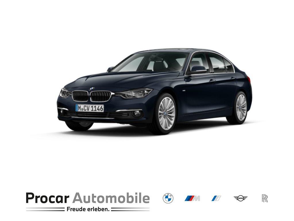 BMW 320i Limousine Luxury Aut LED 18 Kamera Nav Shz, Jahr 2017, Benzin