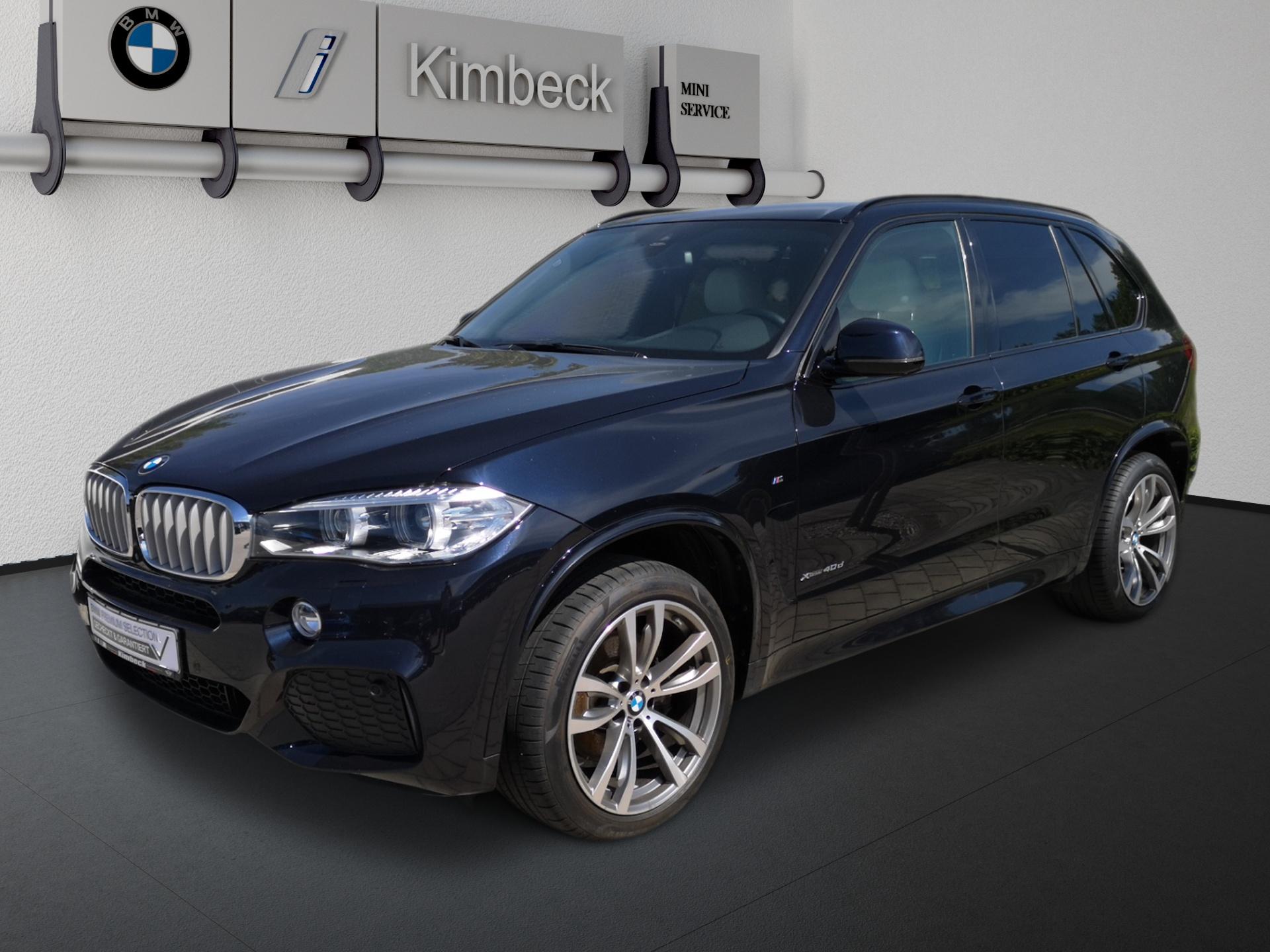 BMW X5 xDrive40d M SPORT Xenon AHK DrivingAss. 360°, Jahr 2018, Diesel