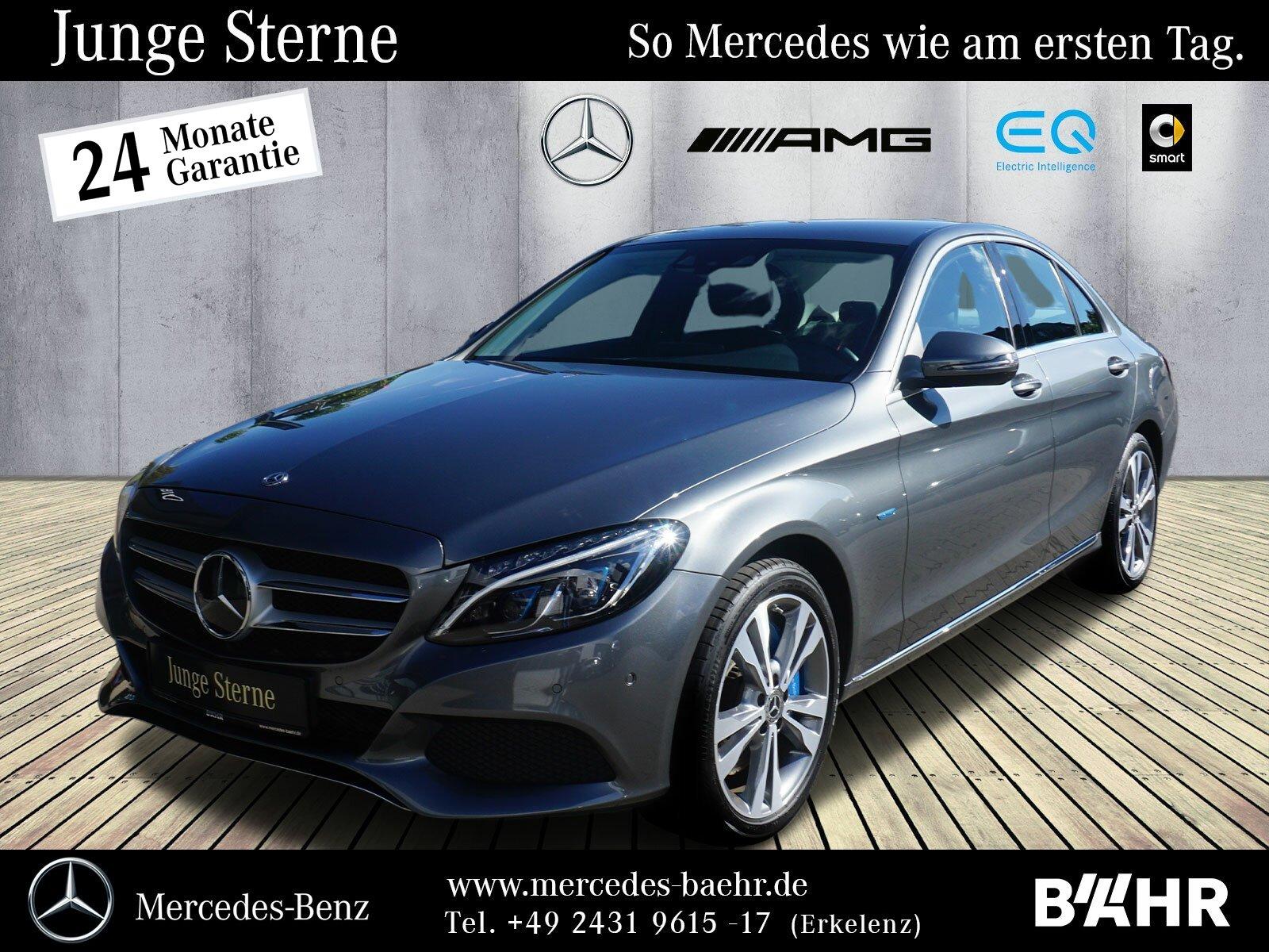 "Mercedes-Benz C 350 e Avantgarde/Comand/LED/Airmatic/AHK/18"", Jahr 2017, hybrid"