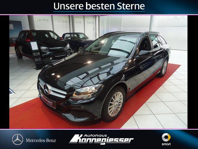 Mercedes-Benz C 200 d T*PARKASSIST*NAVI*TEMPOMAT*EASY-HECKKLP*, Jahr 2015, Diesel