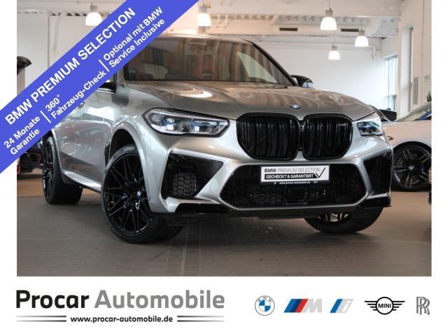BMW X5 M Competition Laser Pano B&W DA+ PA+ DAB AHK, Jahr 2020, Benzin