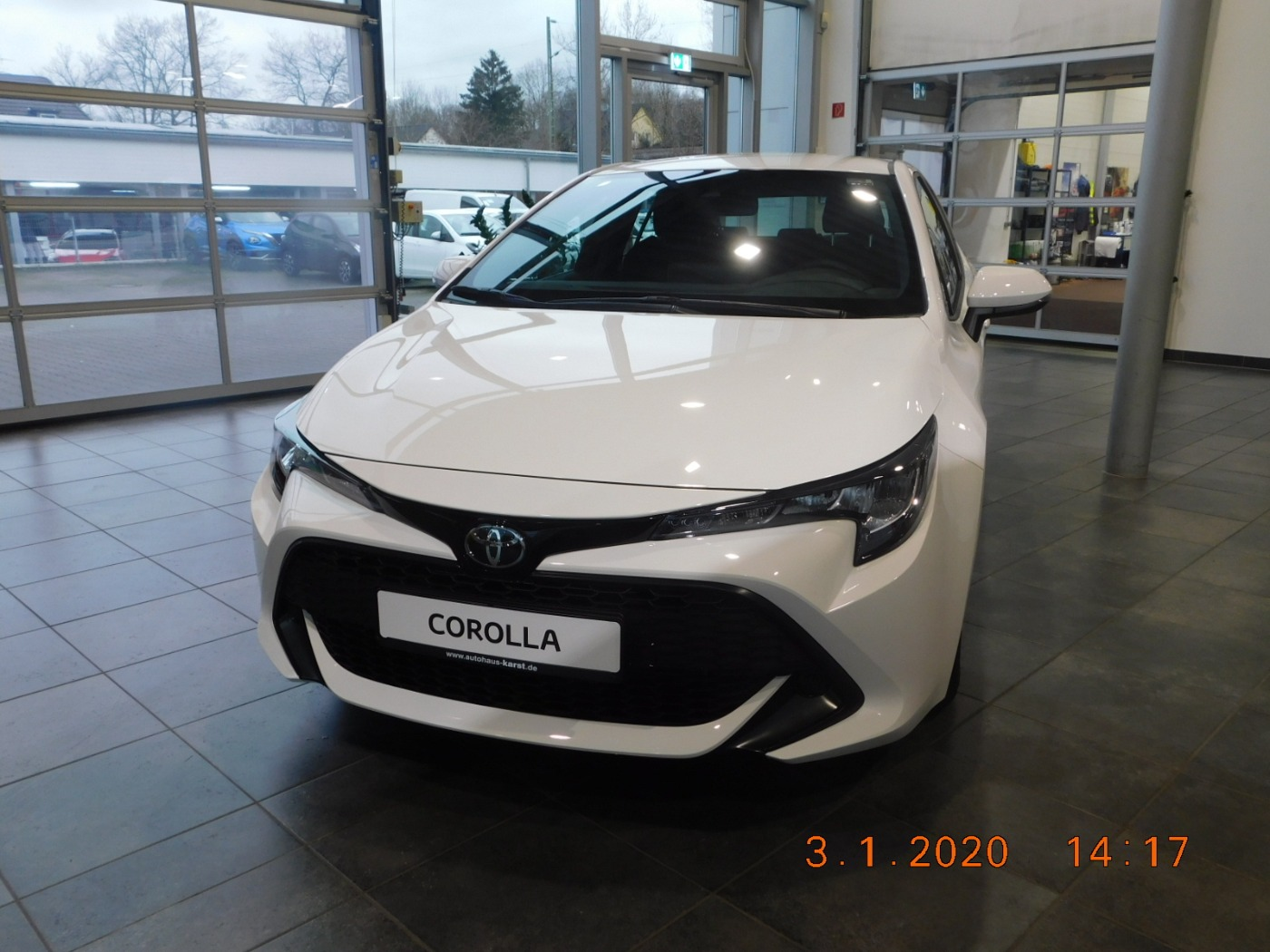 Toyota Corolla 1.2 Turbo Klima Radio **Red Deal**, Jahr 2019, Benzin