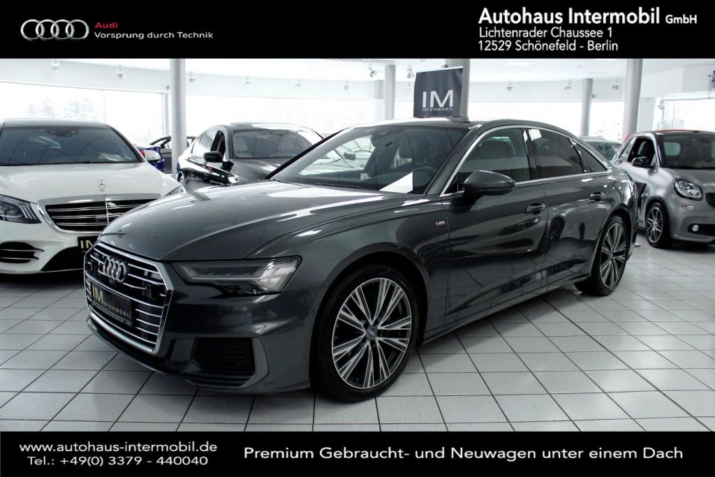 Audi A6 50 TDI quattro S-line*Pano*B&O*Nachtsicht*360, Jahr 2018, Diesel