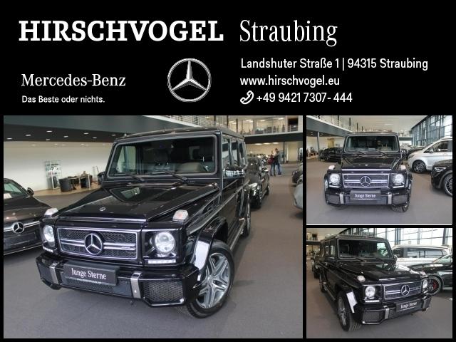 Mercedes-Benz G 63 AMG designo+AHK+Standheizung+Com+Kam+Harman, Jahr 2017, Benzin