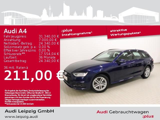 Audi A4 35TDI Avant advanced S tronic*Audi phone box*, Jahr 2020, Diesel