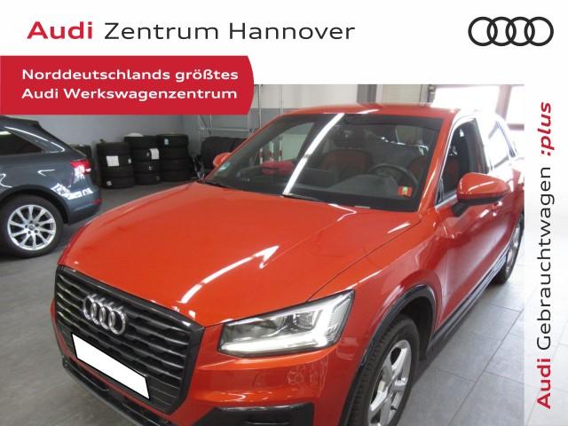 Audi Q2 30 TSI Design, AHK, LED, Navi, Jahr 2018, Benzin