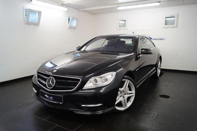 Mercedes-Benz CL 500 BE AMG NACHTSICHT|STANDH.|DISTRONIC|LED, Jahr 2013, petrol