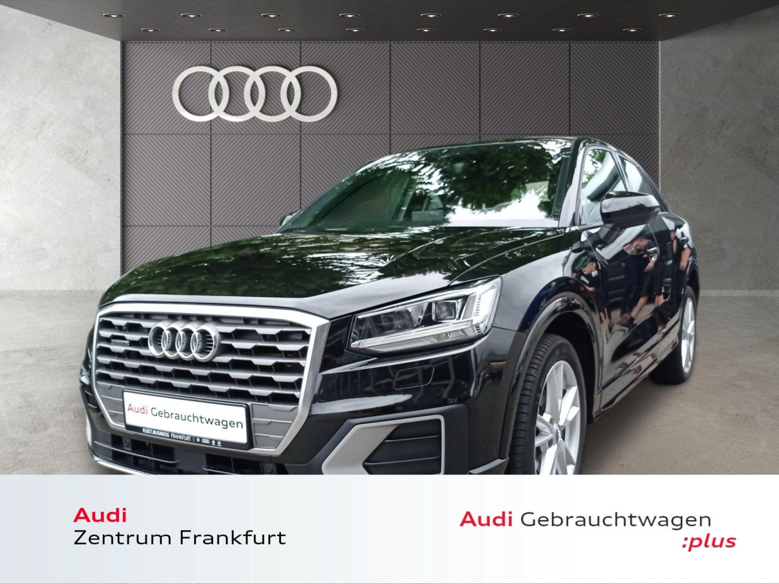 Audi Q2 2.0 TDI quattro S tronic S line LED Navi PDC Sitzheizung, Jahr 2018, Diesel