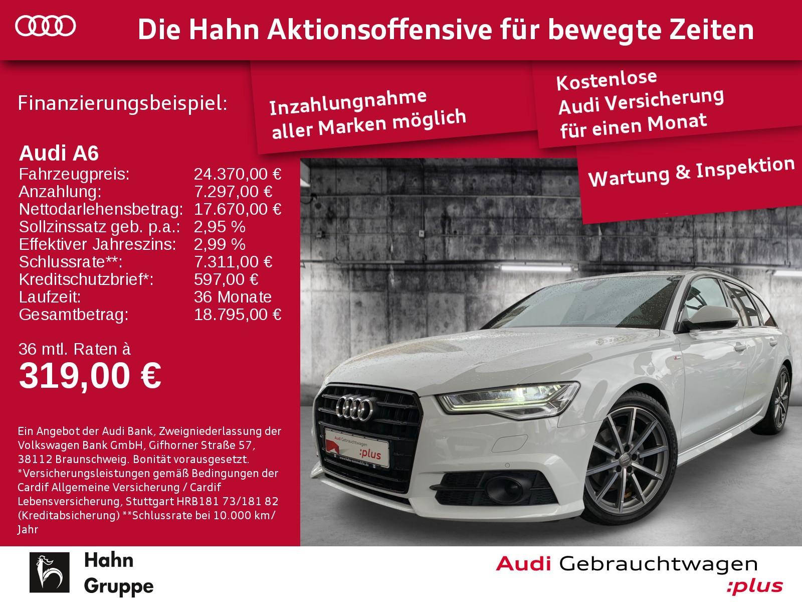 Audi A6 Avant 2.0TDI S-Trc S-line Matrix Cam StandH Navi, Jahr 2017, Diesel