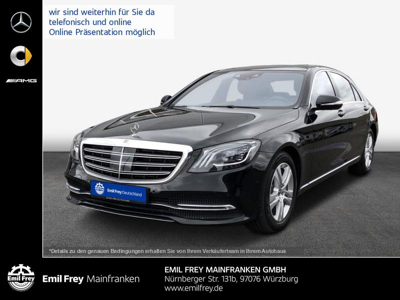 Mercedes-Benz S 400 d Lang 4M+Beam+PANO+HiFi+HeadUp+Distro, Jahr 2018, Diesel