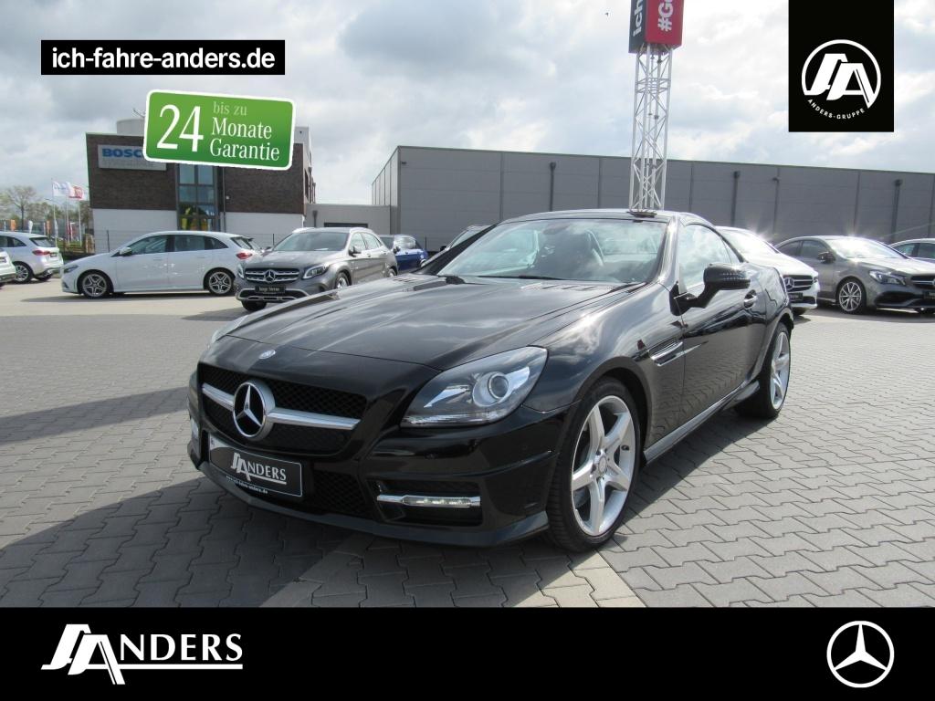 Mercedes-Benz SLK 200 AMG+Navi+PDC+Pano+SHZ+Airscarf+Tempomat, Jahr 2014, Benzin