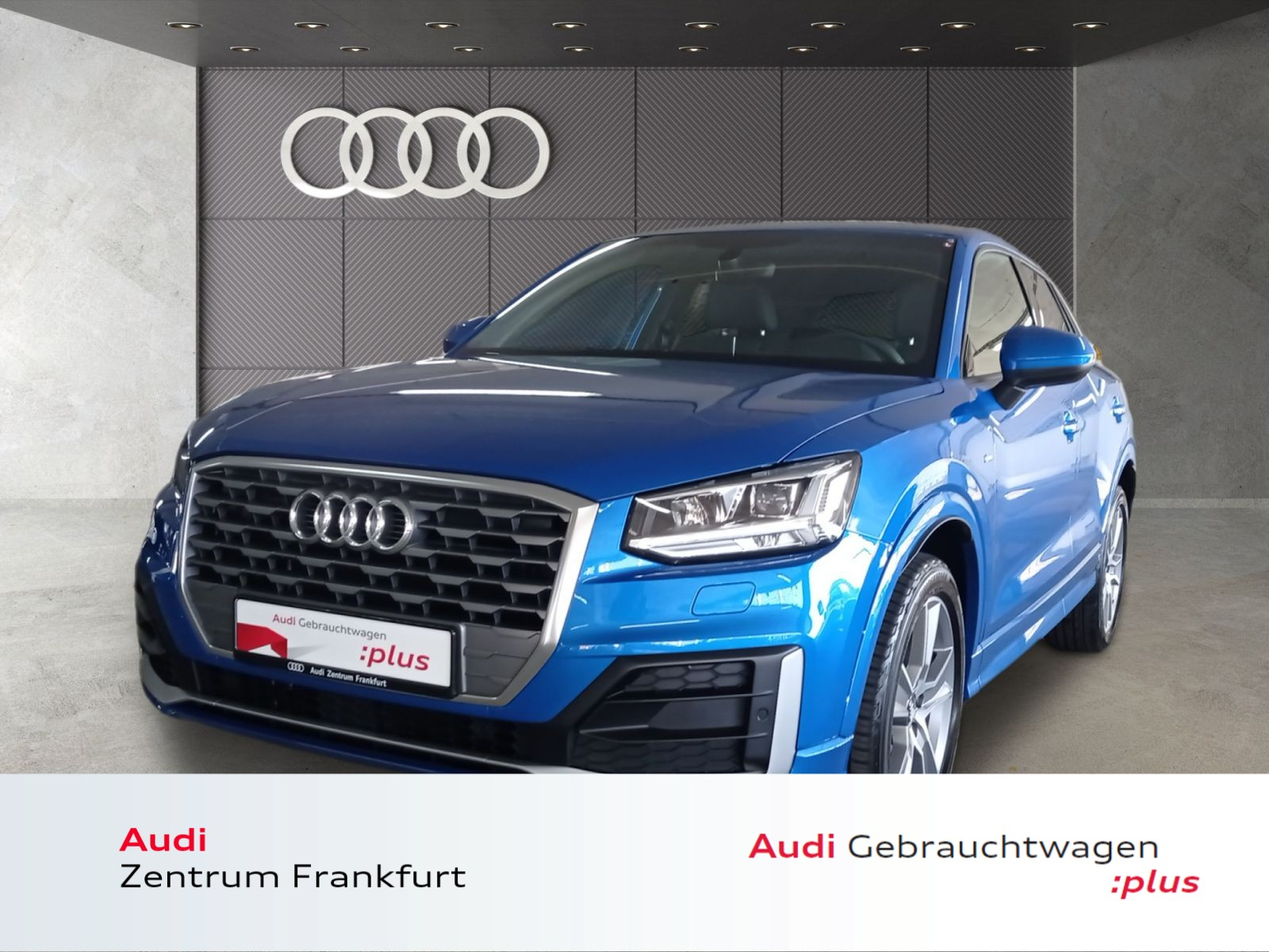 Audi Q2 35 TFSI S tronic sport S line LED Navi Tempomat, Jahr 2020, Benzin