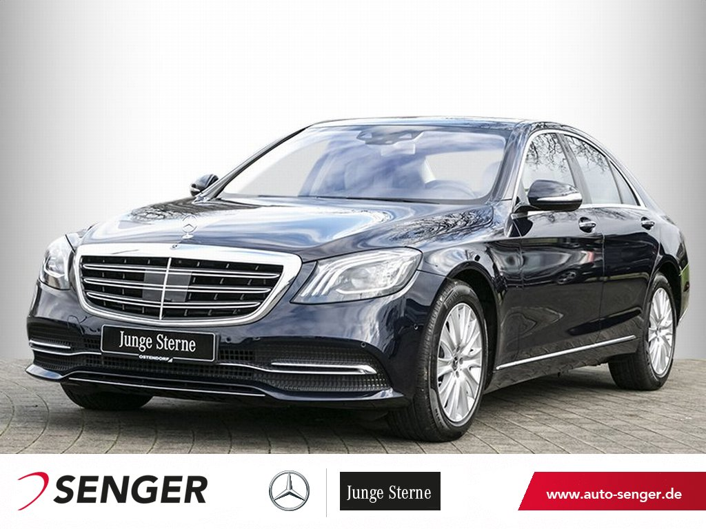Mercedes-Benz S 560 4M*Distronic*Panorama*TV*Burmester*Head-up, Jahr 2018, Benzin