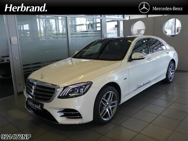 Mercedes-Benz S 560 L e AMG+PANO+HUD+360°+MULTIBEAM+BURMESTER., Jahr 2020, Hybrid