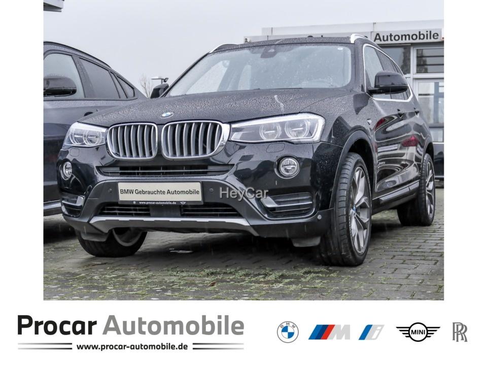 BMW X3 xDrive30d xLine Head-Up LED RFK DA+ Panorama, Jahr 2017, Diesel