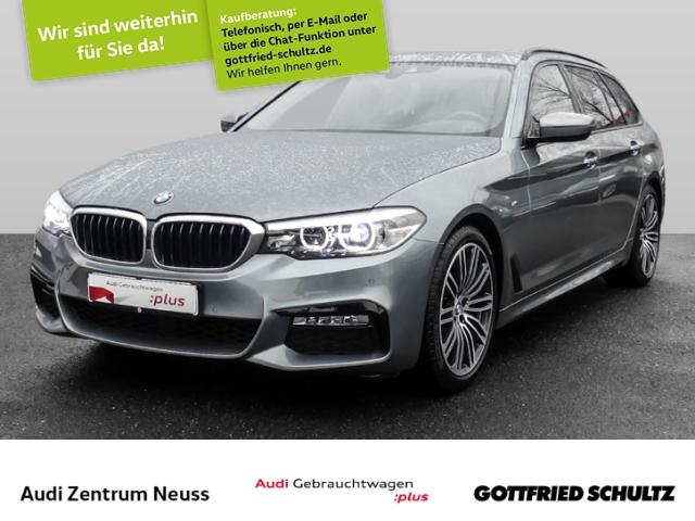 BMW 520 d Touring M-Paket HUD,LUFT,LED,LEDER,NAVI,SHZ Shadow Line, Jahr 2017, Diesel