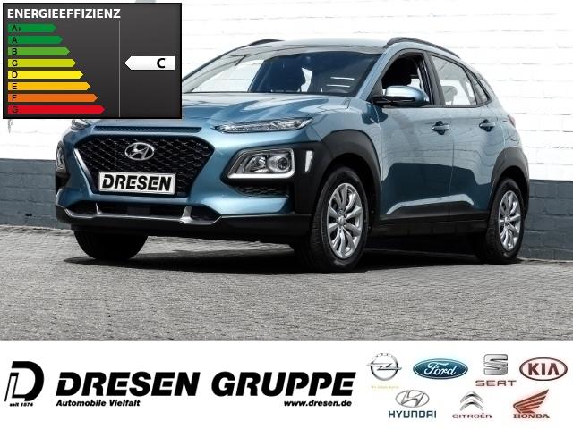 Hyundai Kona Select 2WD 1.0 T-GDI Klima/Bluetooth/Spurhalteassistent/USB, Jahr 2018, petrol
