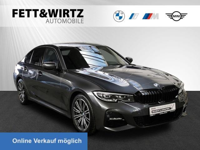 BMW 318d M-Sport Navi LED HiFi Leas ab 355,- br.o.A., Jahr 2020, Diesel