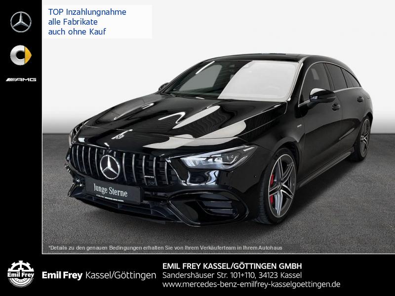 Mercedes-Benz CLA 45 SB S AMG 4M+ RideContr+RealSound+Dist+HiFi, Jahr 2020, Benzin