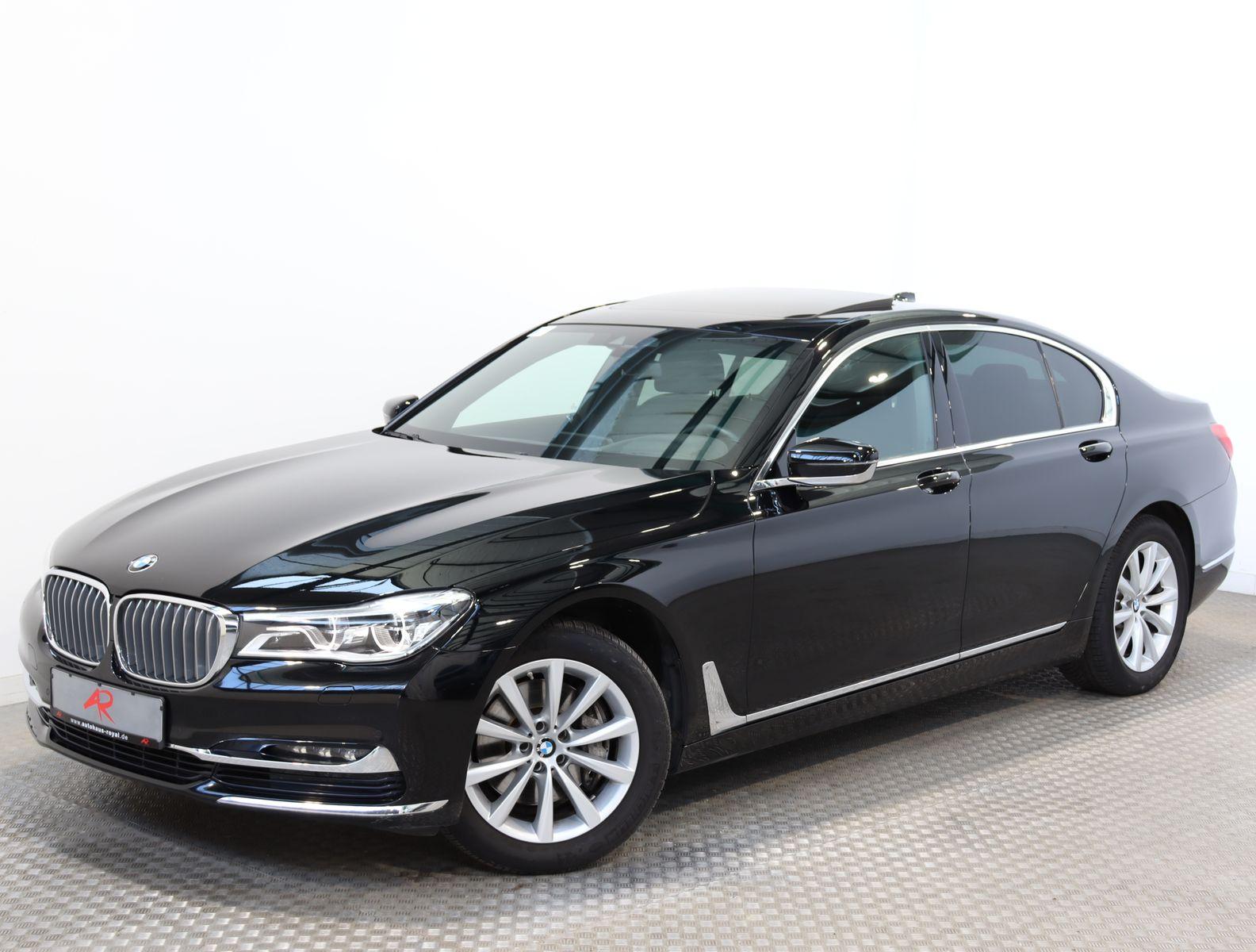 BMW 740 d xDrive DIGI.TACHO,MASSAGE,HEADUP,MEMORY,SH, Jahr 2016, Diesel