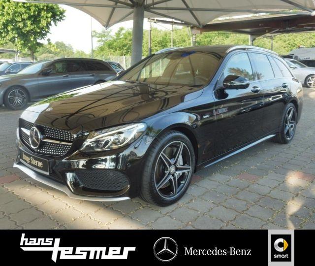 Mercedes-Benz C 450 T AMG 4M Standh.+Haed+Distronic+Pano+360°+, Jahr 2016, Benzin