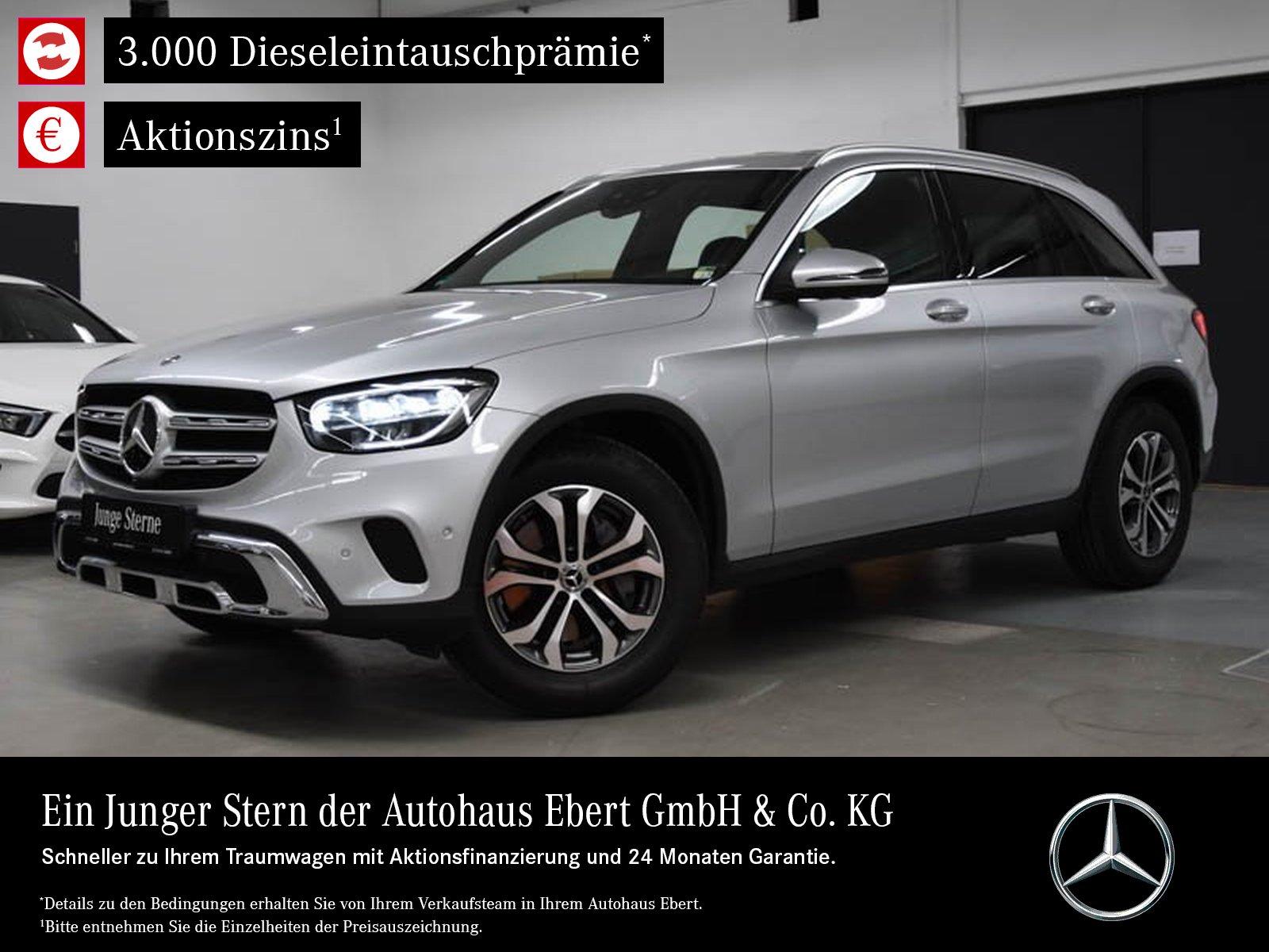 Mercedes-Benz GLC 200 4M 9G+LED+MBUX+360°+EASYPACK, Jahr 2019, Benzin