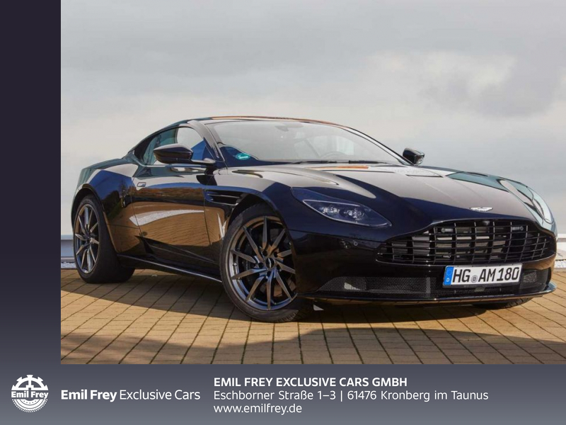 Aston Martin DB11 V8 Coupe, Jahr 2020, Benzin