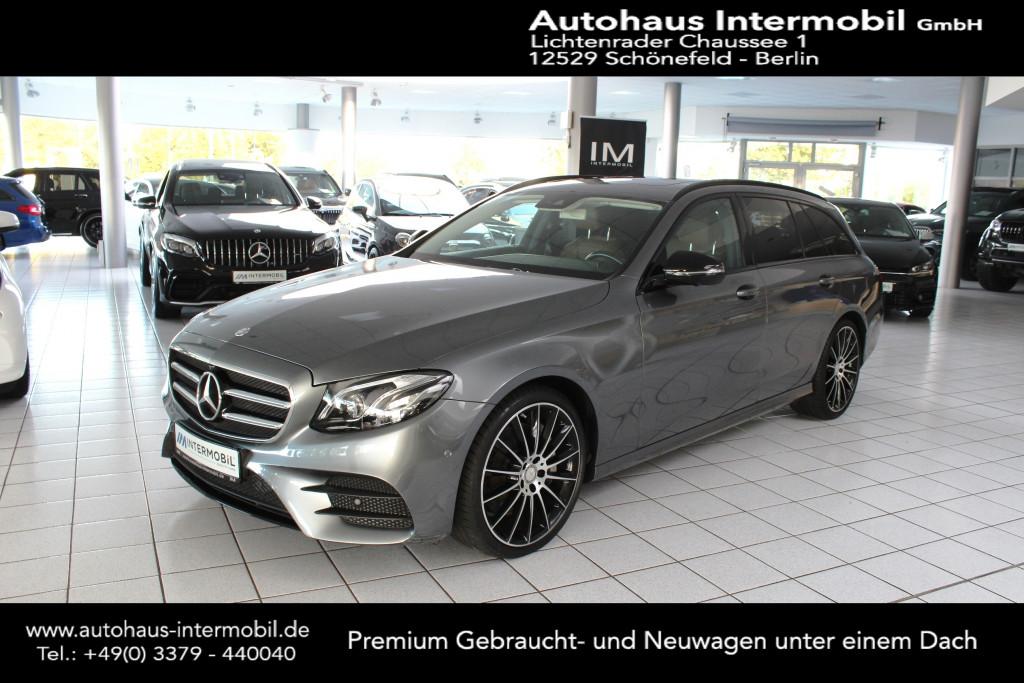Mercedes-Benz E 350 d T 9G-Tronic AMG Night-Paket*Leder*360°, Jahr 2017, Diesel