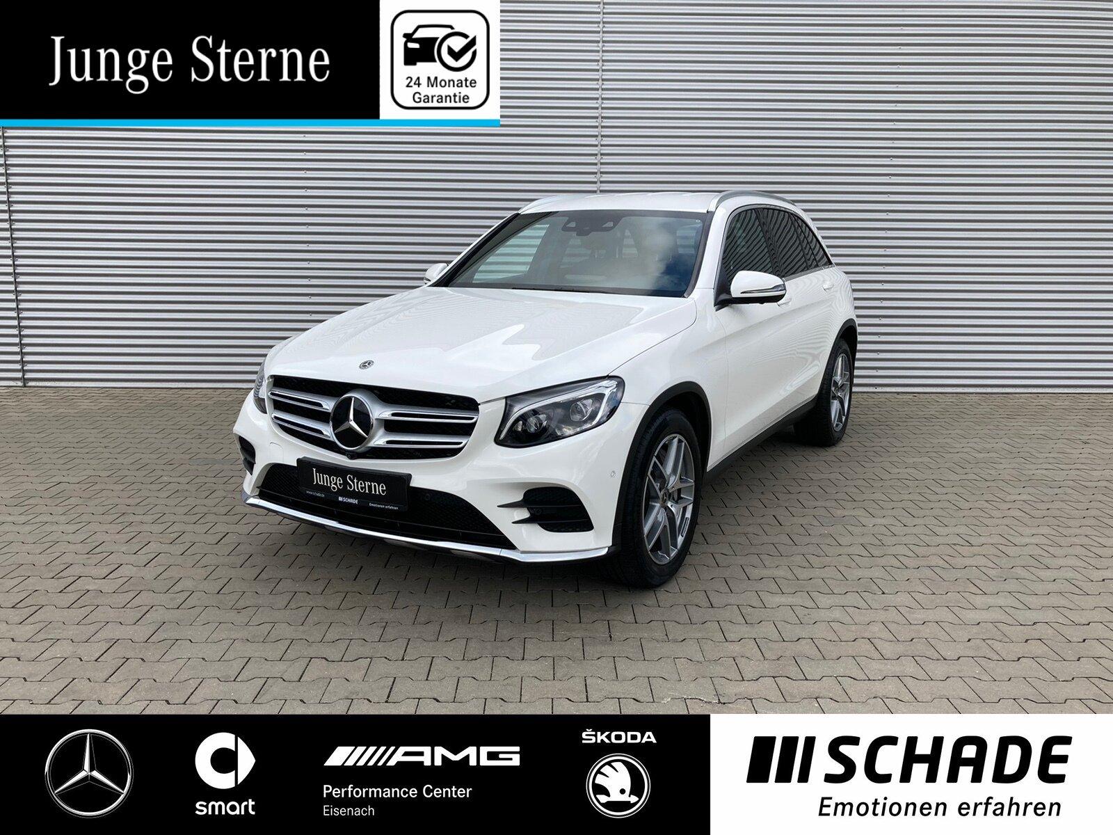 Mercedes-Benz GLC 350 d 4M AMG Line ILS*AHK*360°Kam*Distronic, Jahr 2017, Diesel