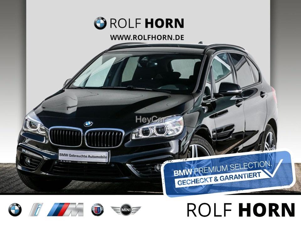 BMW 220 Active Tourer Sport L. Aut. Navi LED SHZ, Jahr 2018, Benzin