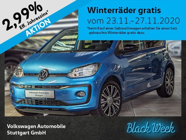 Volkswagen up! 1.0 high up! Klima, Jahr 2016, Benzin