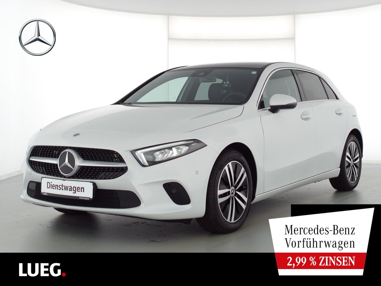 Mercedes-Benz A 180 PROGRESSIVE+PANO+TOTW+LED+KAMERA+DKL.GLAS, Jahr 2021, Benzin