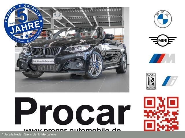 BMW 230i Cabrio M Sportpaket Navi Prof. RFK DAB H/K, Jahr 2017, Benzin