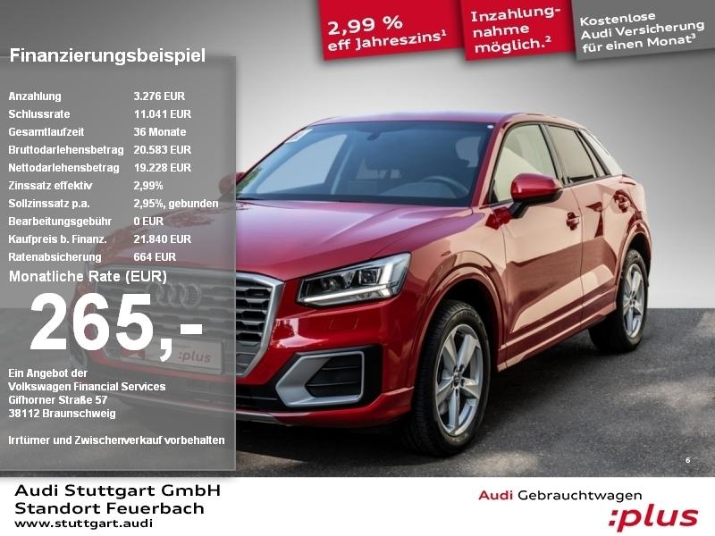 Audi Q2 Sport 1.0 TFSI, Jahr 2018, Benzin