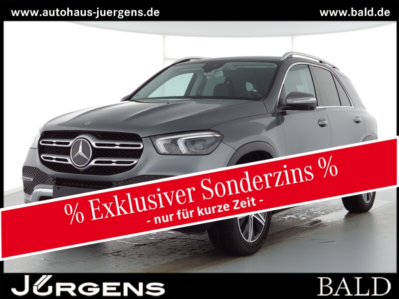 Mercedes-Benz GLE 300 d 4M Navi/LED/360/AHK/Keyl/EASY-P/SHZ/18, Jahr 2020, Diesel