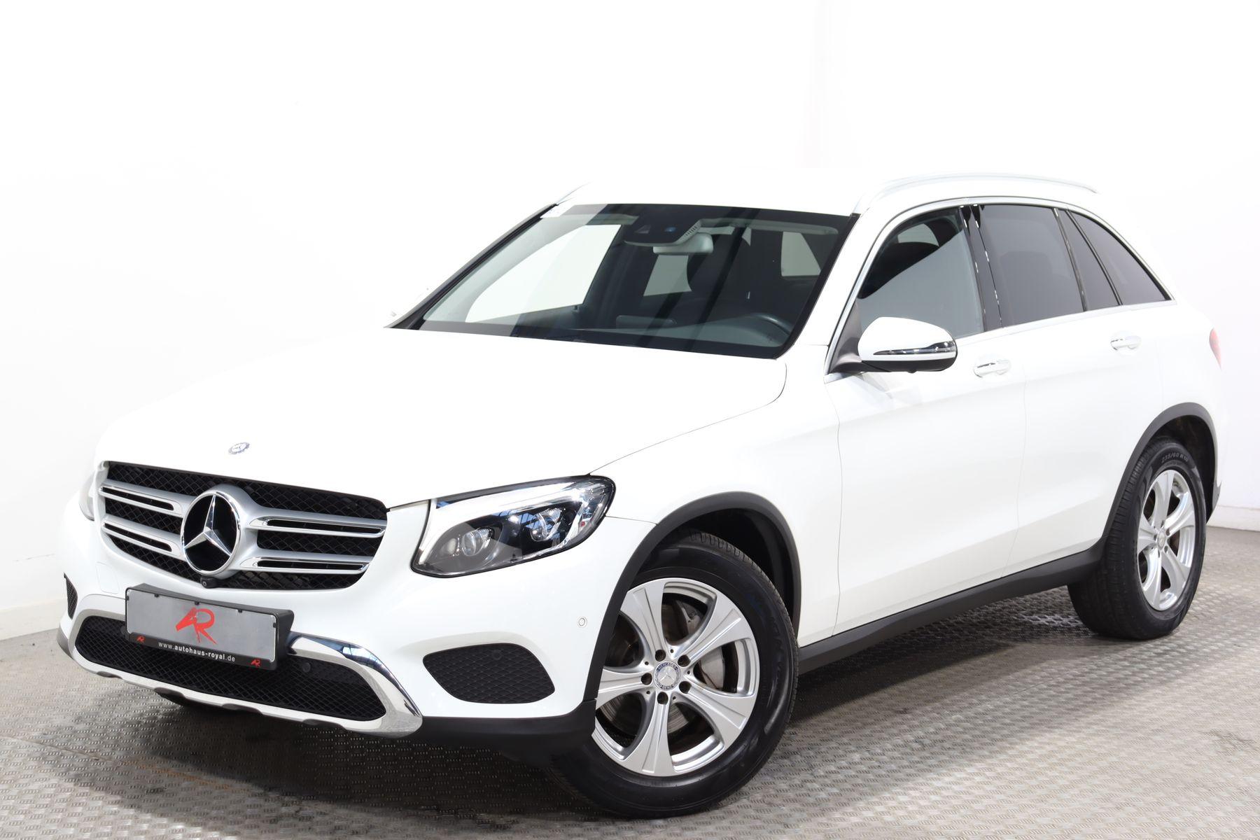 Mercedes-Benz GLC 250 d 4M EXCLUSIVE 360GRAD,KEYLESS,STANDHEIZ, Jahr 2015, Benzin