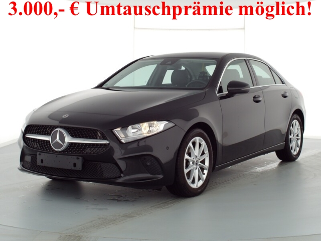 Mercedes-Benz A 180 Limousine Progressive+7G-DCT+Navi-Prem.+Business-P, Jahr 2019, Benzin
