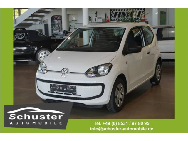 Volkswagen up! take 1.0 CD ESP Seitenairb. Radio Servo ESP, Jahr 2015, petrol