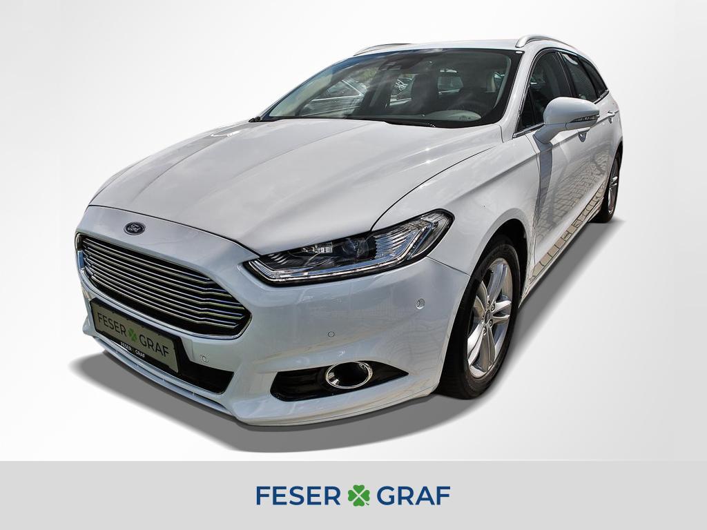 Ford Mondeo 2.0 TDCi Powershift Titanium LED ACC RFK, Jahr 2018, Diesel