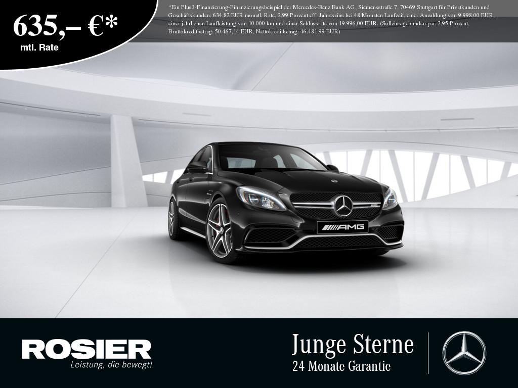Mercedes-Benz C 63 AMG S, Jahr 2017, Benzin