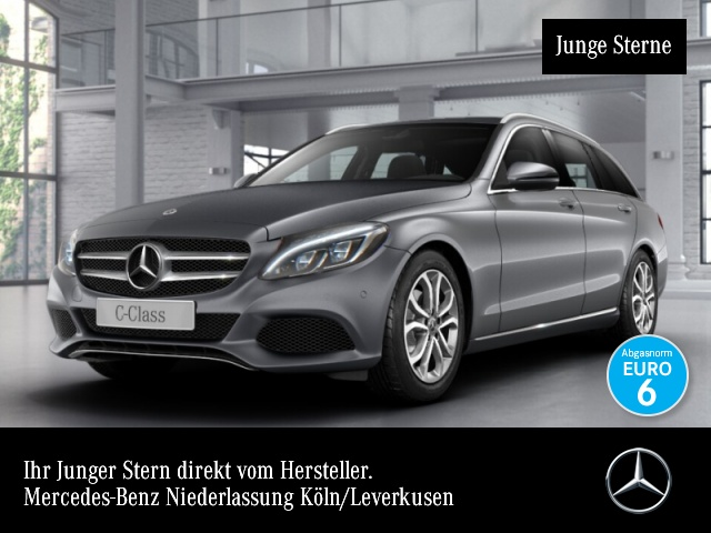 Mercedes-Benz C 220 d T Avantgarde ILS LED AHK EDW PTS 9G Sitzh, Jahr 2017, Diesel